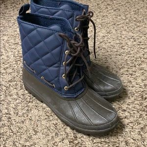 Sperry boots size 8